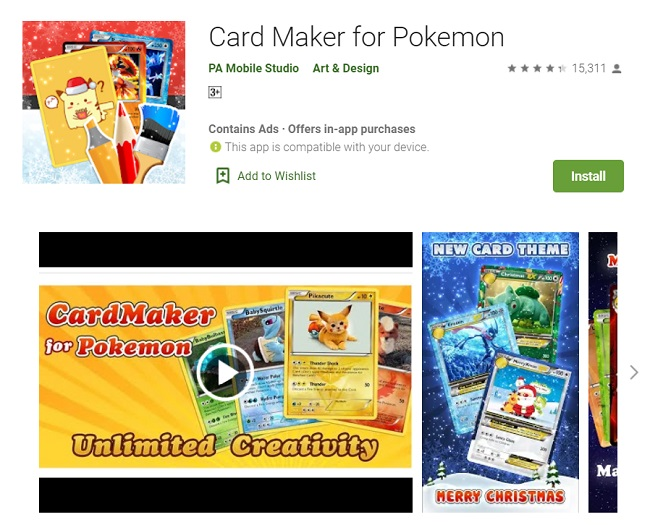 Pokemon Card Makers