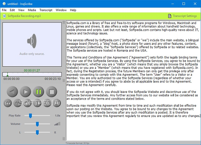 transcriptions software mac