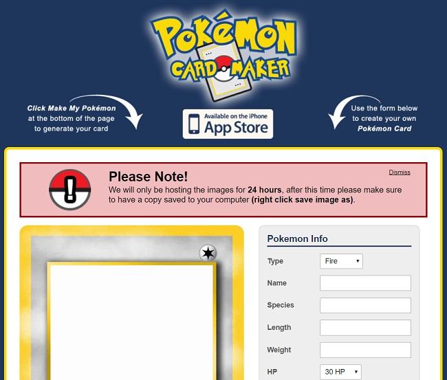 Pokemon Card Makers