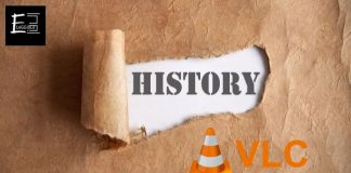 Clear VLC History