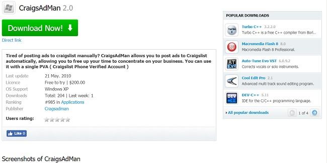 Best Craigslist Posting Software Top 11 Free Tools