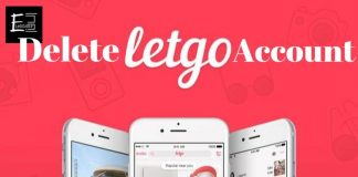 Delete Letgo Account