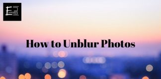 How to Unblur Photos