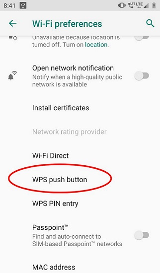 Connect to Wifi Without Password