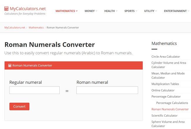 Roman Numeral Converter