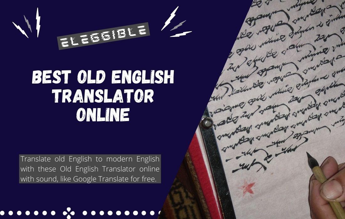 Old English Translator