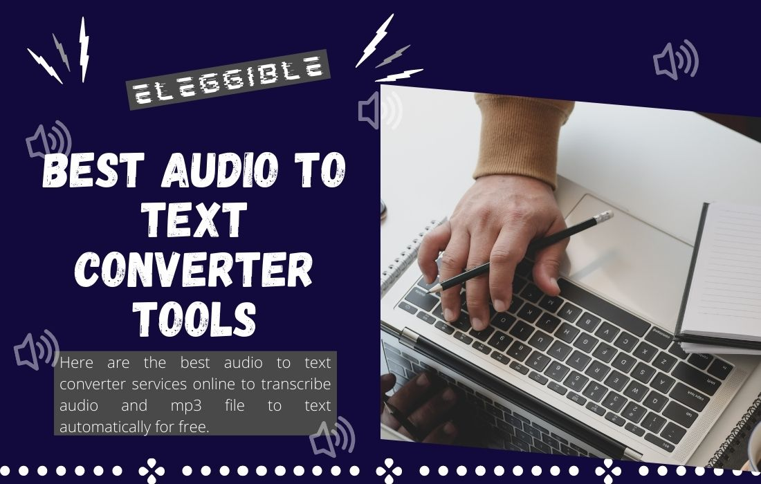 audio to text converter to transcribe audio file to text