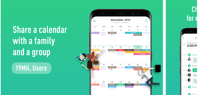 schedule app for android