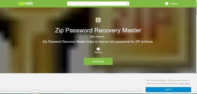 ZIP-Password-Master