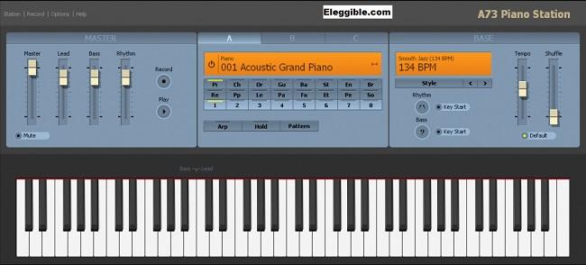 free piano software