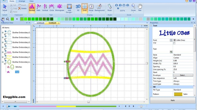 Free Embroidery Digitizing Software