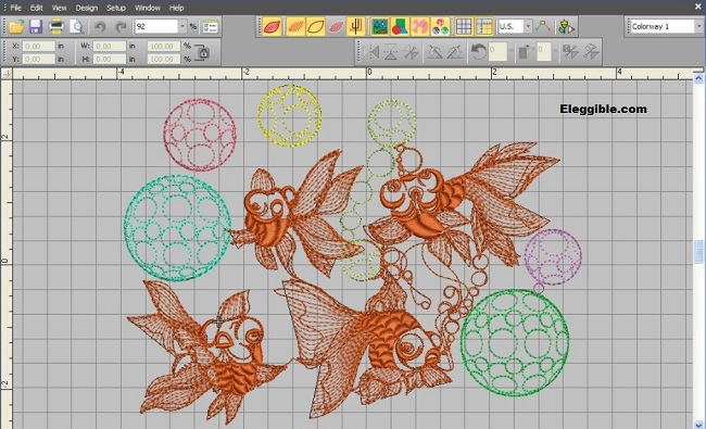 embroidery digitizing software free