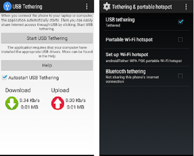 tethering apps iphone