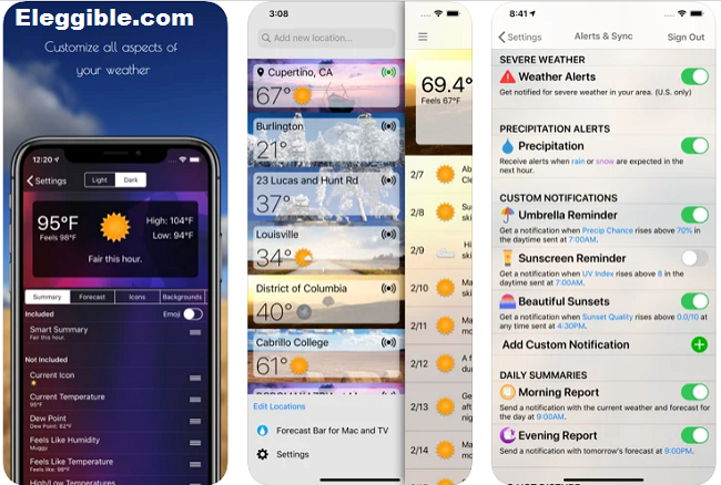 Weather Apps for Mac
