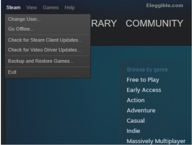 Steam settings how to broadcast on steam