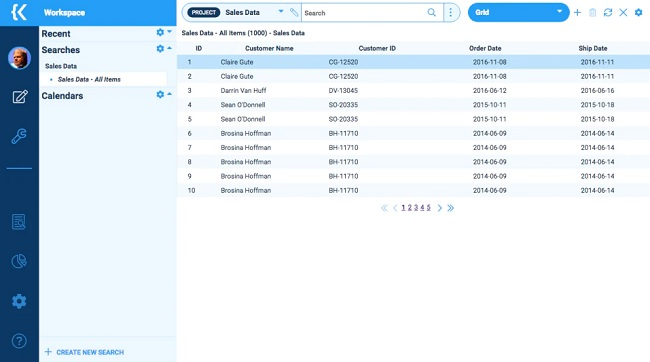 kohesion small business database software