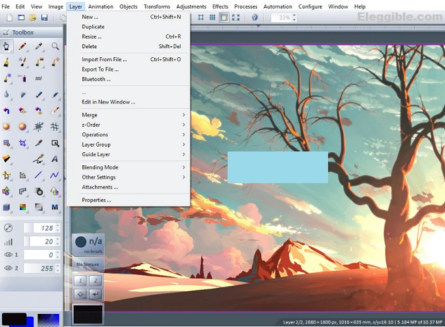Chasys Draw IES free focus stacking software