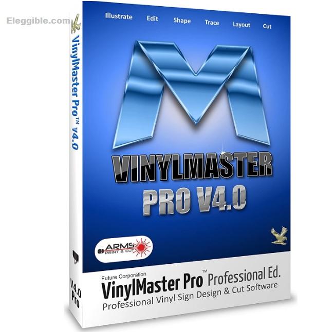 Vinlymaster PRO V4.0 vinyl cutter software