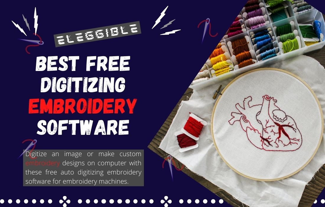 best free digitizing embroidery software for embroidery machines