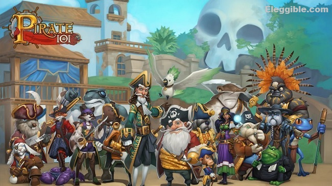 games like free realms pirate101