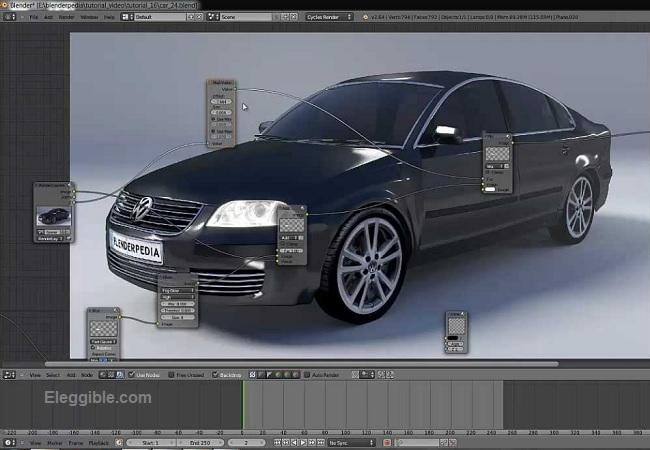 Car Design Software Blender