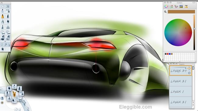 Car Design Software Sketchbook