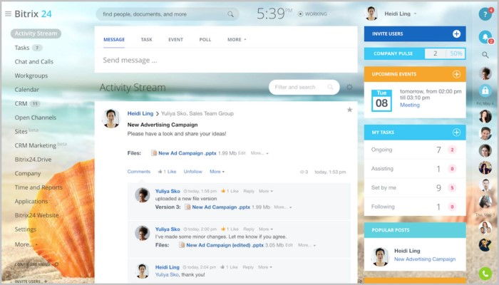 Bitrix24 call center software for free