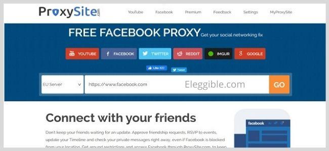Facebook Proxysite free proxy site