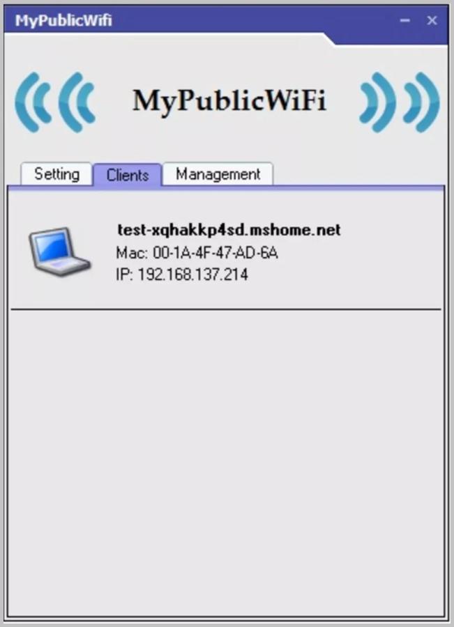MyPublicWiFi wifi sharing