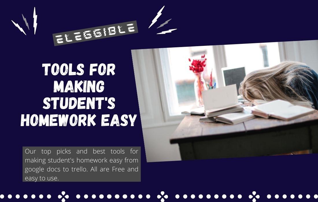 making student's homework easy