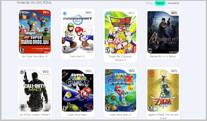 chaos games download wii u roms