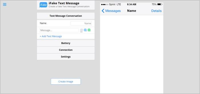 Fake Message Generator