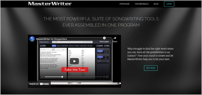 MasterWriter soft for writers