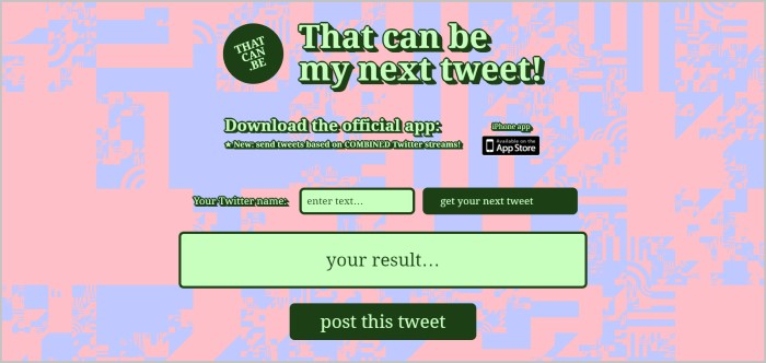 Random Tweet Generator