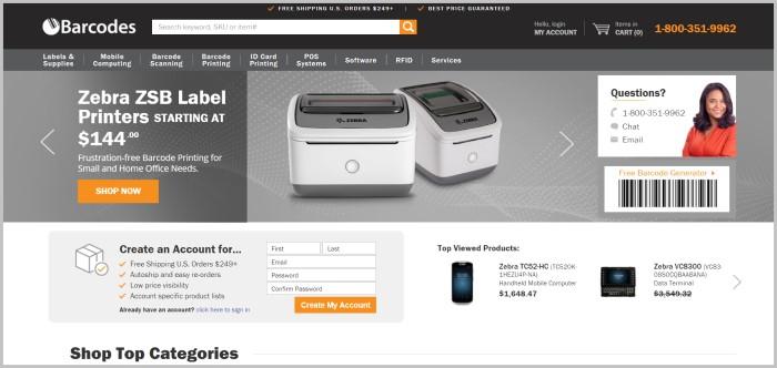 BarcodesINC free barcode maker software