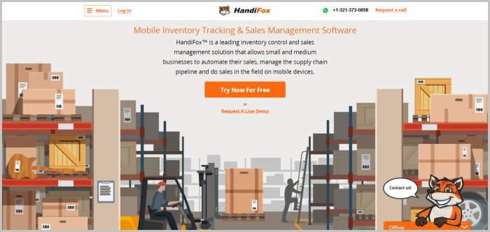 HandiFox free barcode generator software