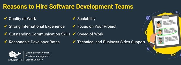Reasons to hire dedicated development team