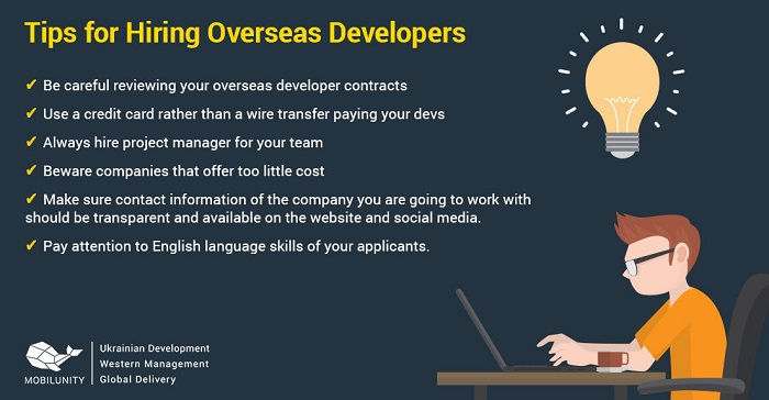 Tips for hiring developers from other countries