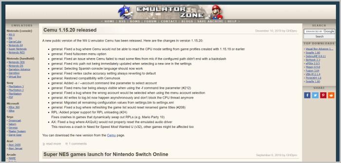 Emulator zone trusted rom site