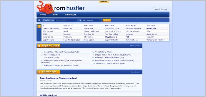 Rom Hustler free rom games